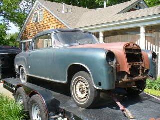 1960 Mercedes 220se Coupe For Restoratation,  W128,  Texas Car photo