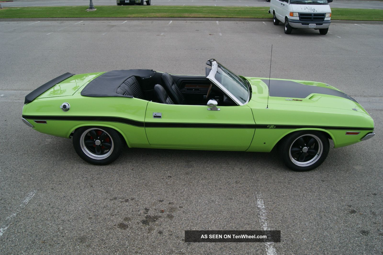 1970 dodge challenger rt convertible 426ci hemi engine 4
