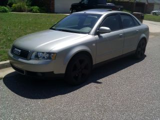 2002 Audi A4 Quattro Base Sedan 4 - Door 1.  8l photo