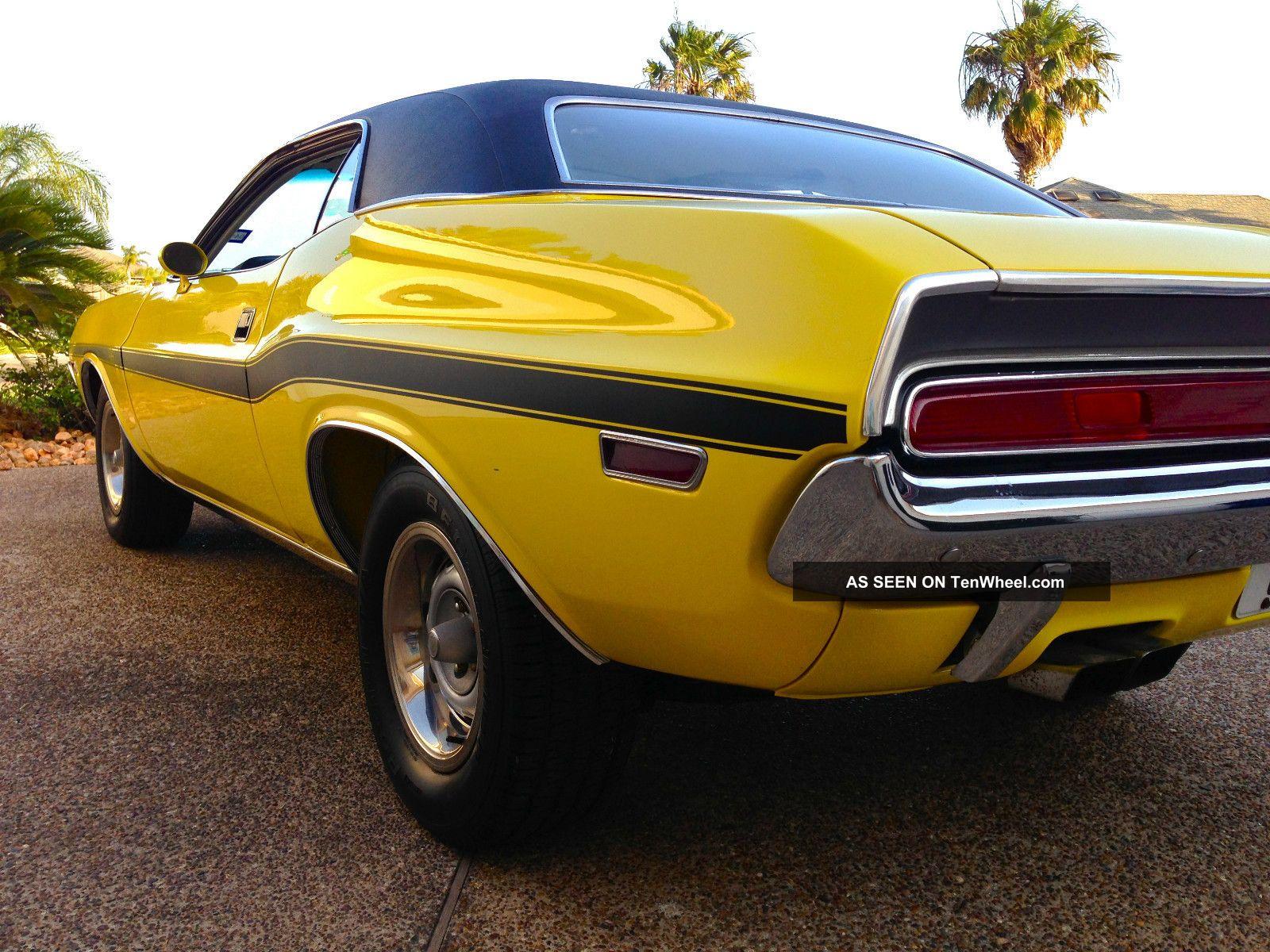 1970 Dodge Challenger R T Magnum