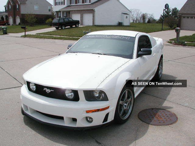 2005 ford mustang roush stage 1 specs