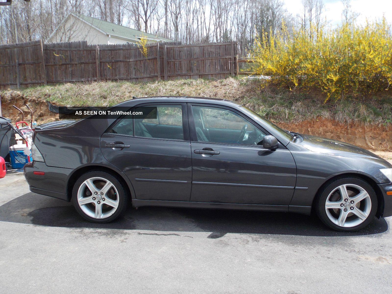 2003 Lexus Is300 Base Sedan 4 Door 3 0l