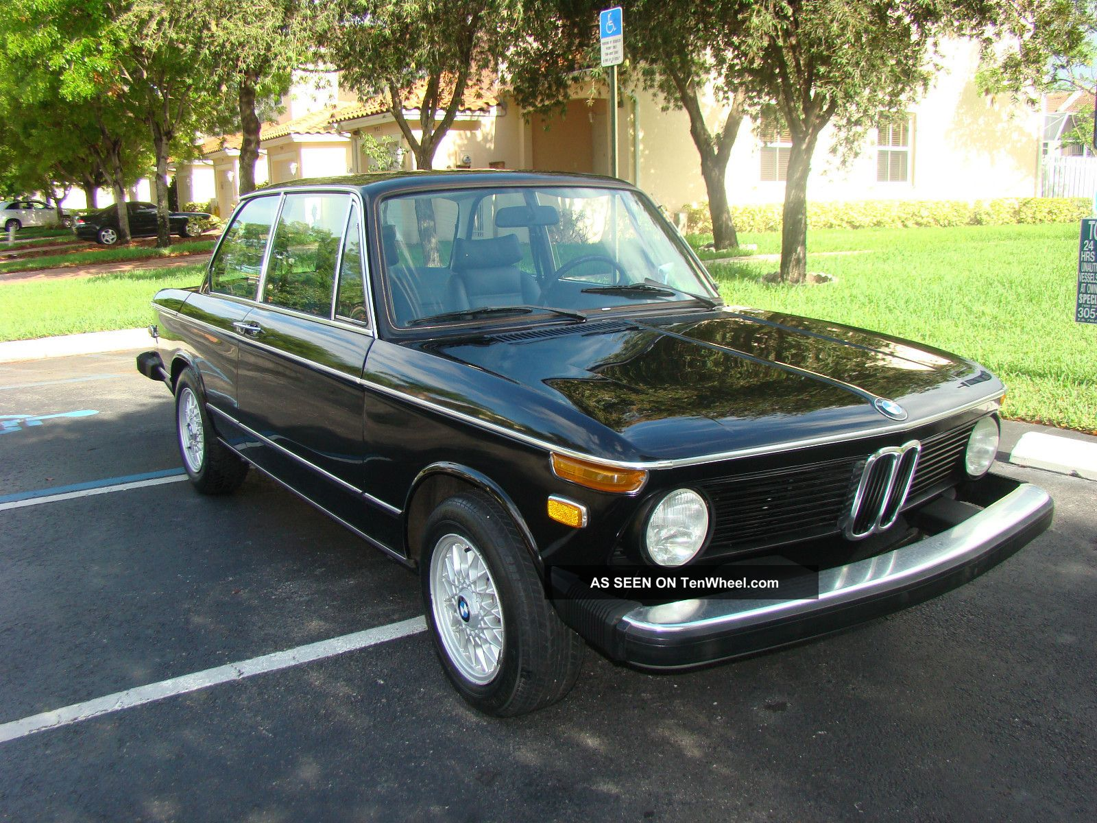 1974 bmw 2002 with tii engine color black alpina seats. Black Bedroom Furniture Sets. Home Design Ideas