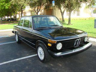 1974 Bmw 2002 With Tii Engine,  Color: Black,  Alpina Seats photo