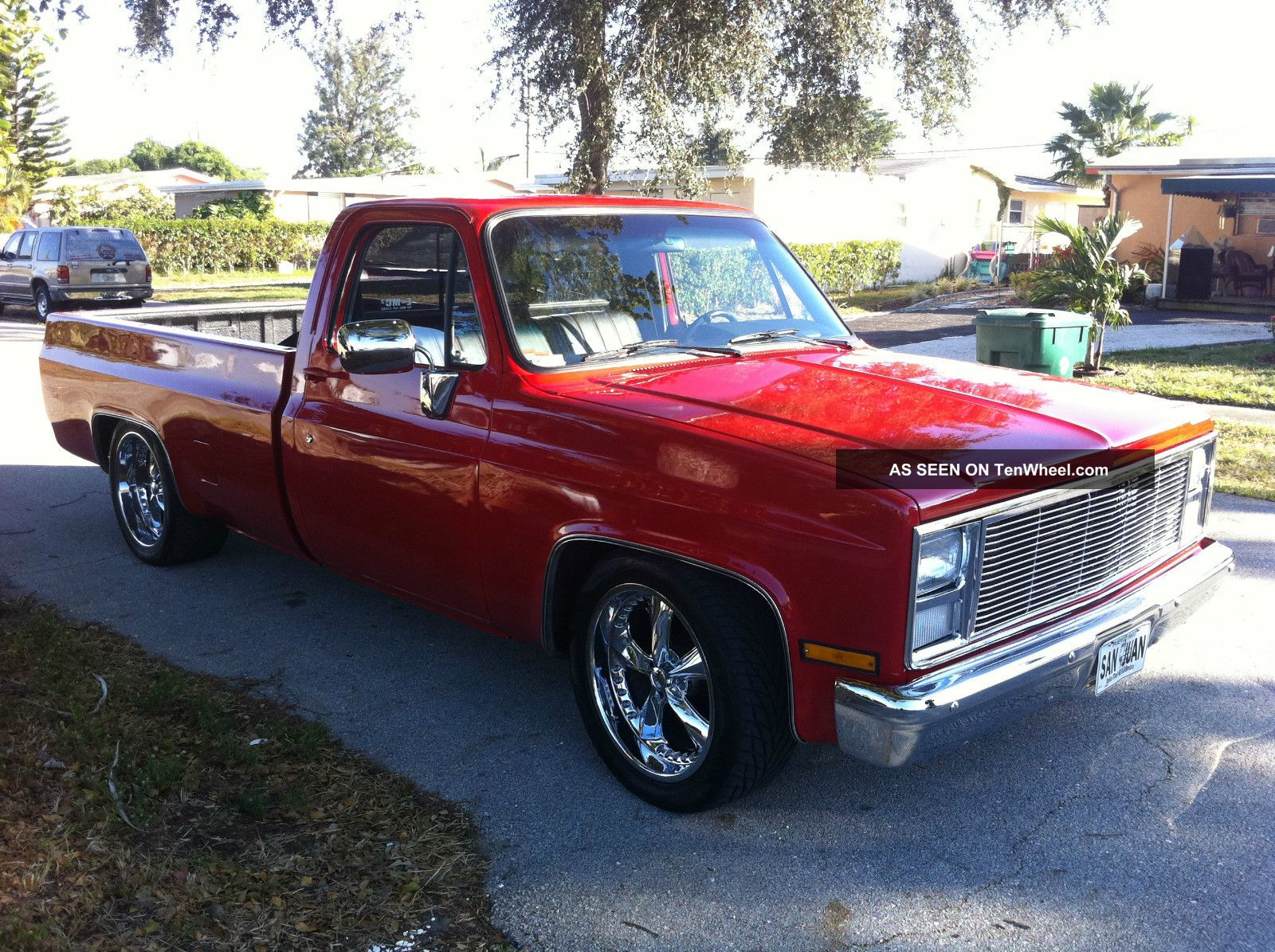 Completely 1985 Chevy Pickup Truck 400 Small Block Chevy