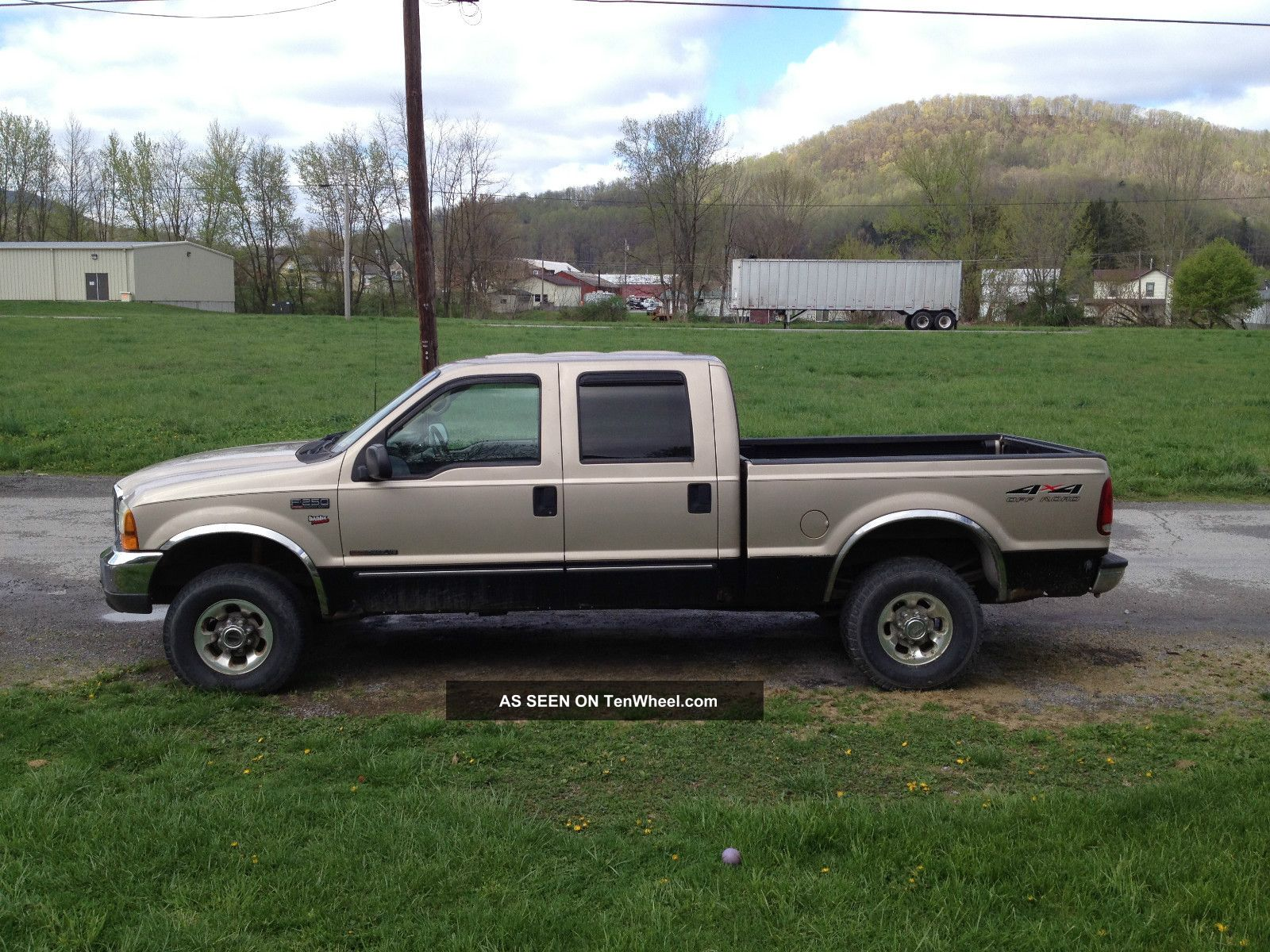 1999 ford f250 duty lariat 7 3 powerstroke turbo diesel crew cab 4x4. Black Bedroom Furniture Sets. Home Design Ideas