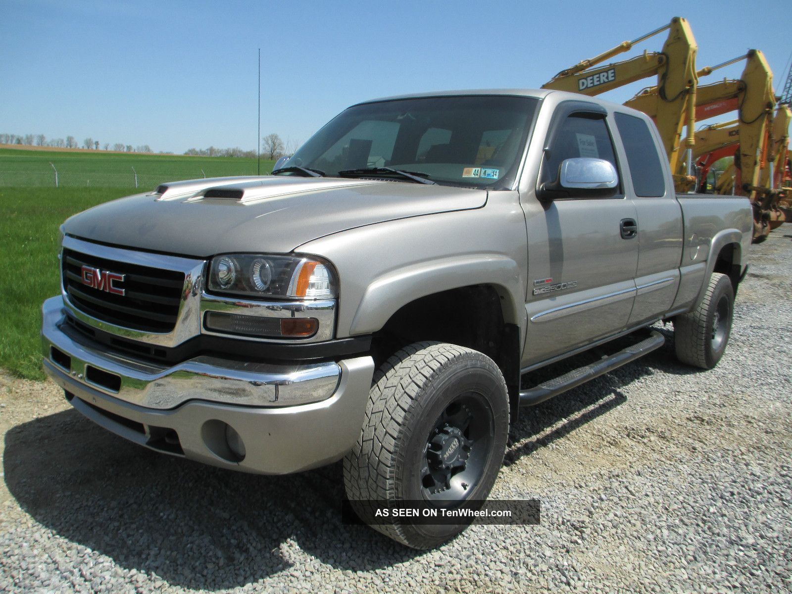 2003 Gmc Sierra 2500hd,  Duramax Turbo Diesel,  Extended Cab,  4 - Door,  4x4, Sierra 2500 photo