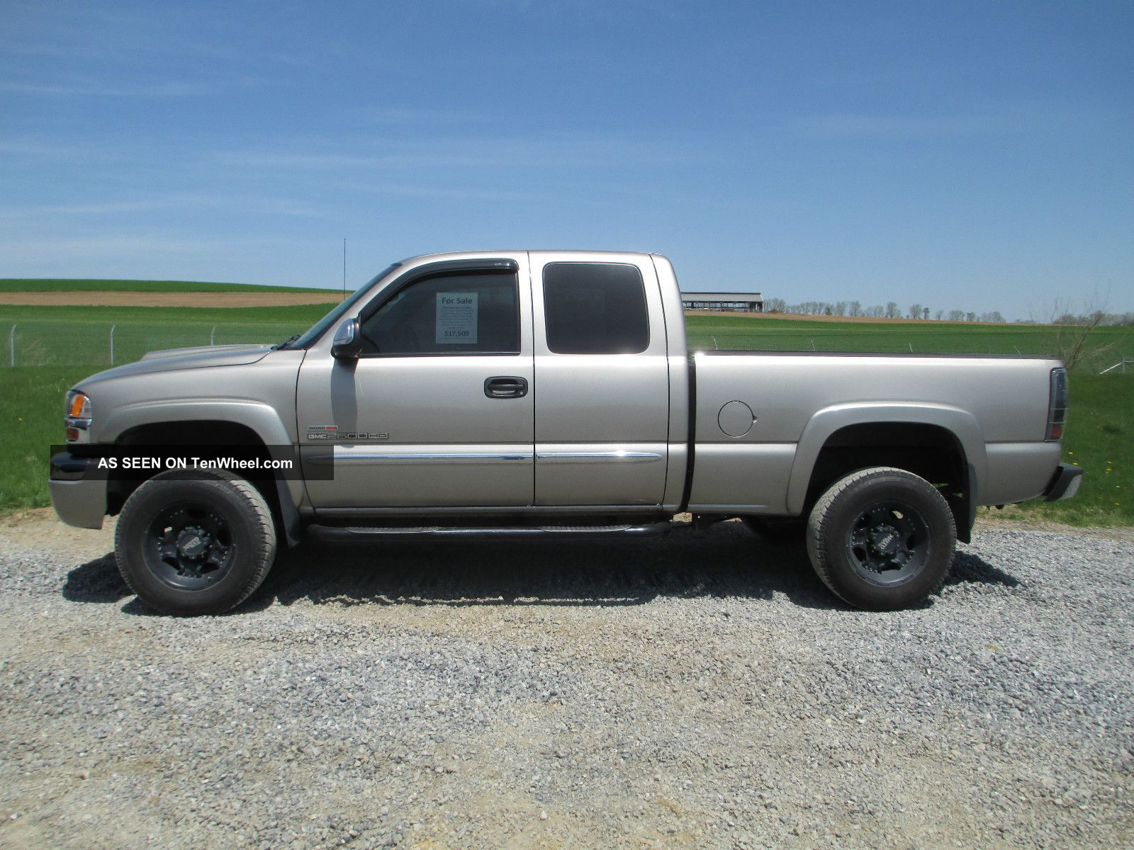 2003 2500Hd diesel duramax duty gmc heavy pickup truck #2