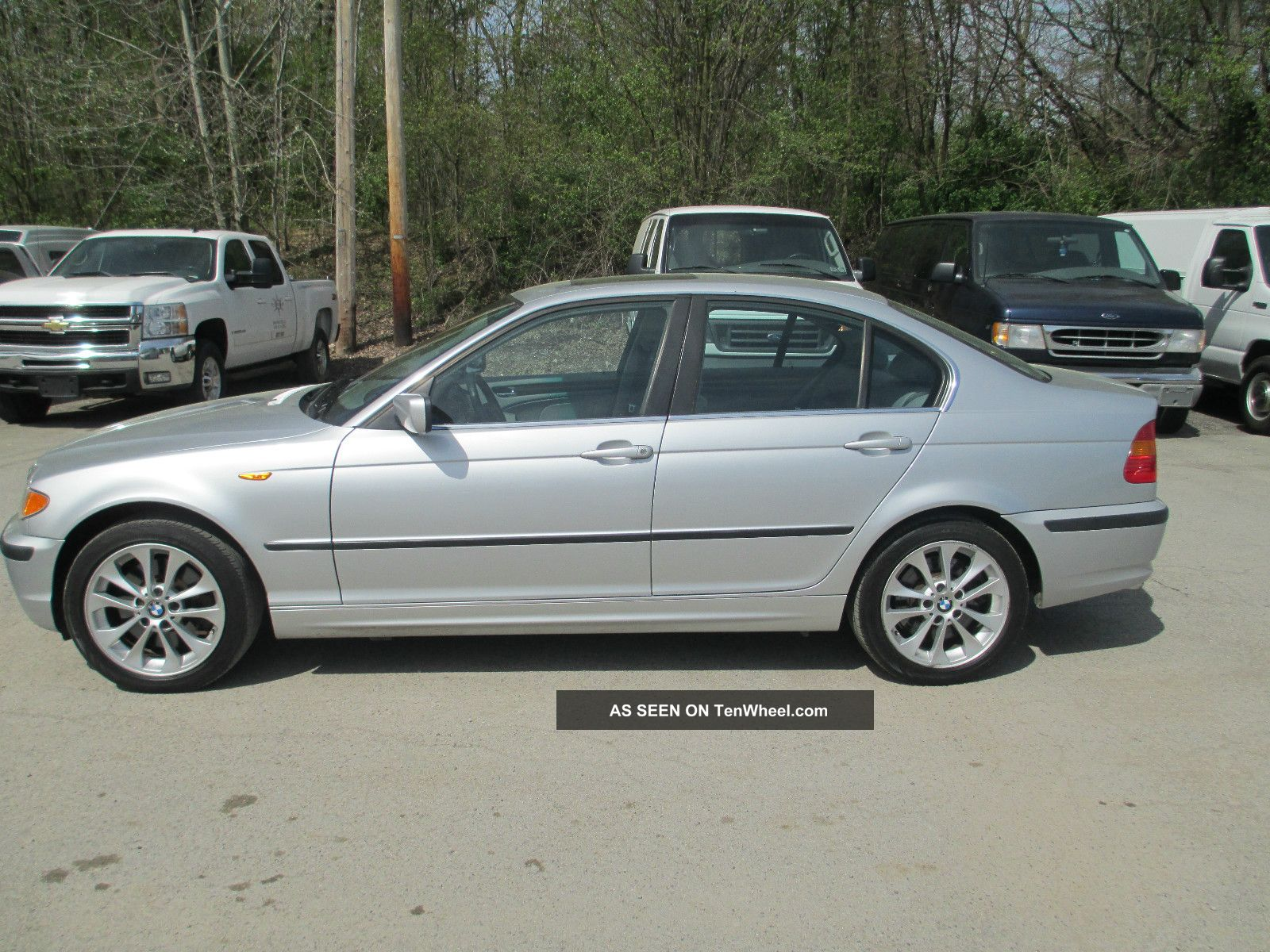 2002 Bmw 330xi Base Sedan 4 Door 3 0l
