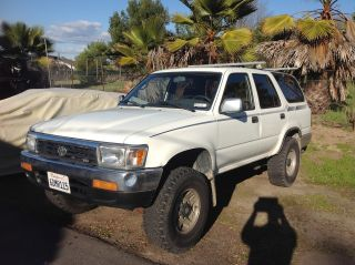 Toyota 4runner 1993 V6 Manual 4 X 4 photo