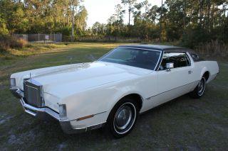 1972 Lincoln Continental Mark Iv 7.  5l Survivor Make Offer Let 77+ Pict Load photo