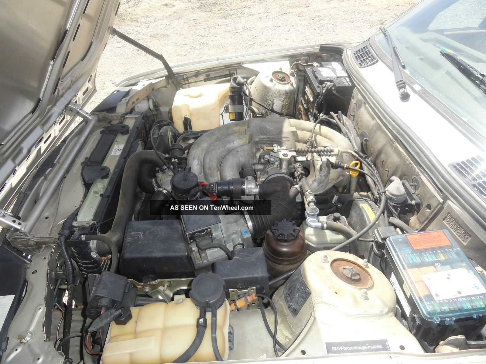 1989 Bmw 325i Base Convertible 2 Door 2 5l 2 Onwer Car
