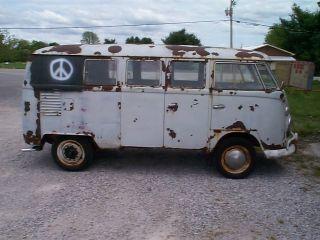 1963 Vw Bus Only 65 K Mi.  Run & Drive photo