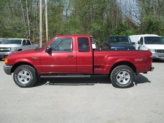 2002 Ford Ranger Xlt Extended Cab Pickup 4 - Door 4.  0l photo