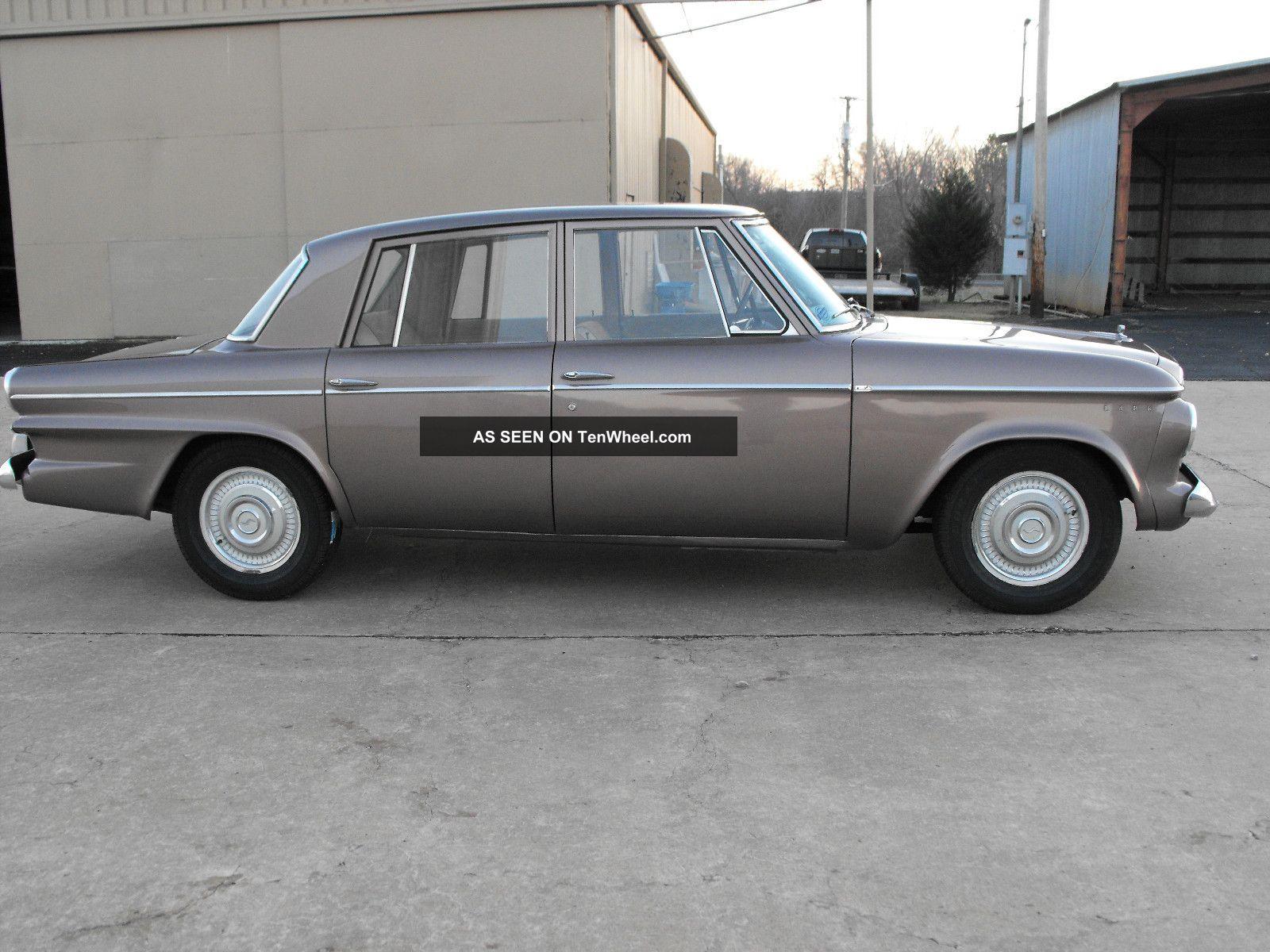 Studebaker Lark Drive Anywhere Lgw on 500 Ci Cadillac Engine Specs