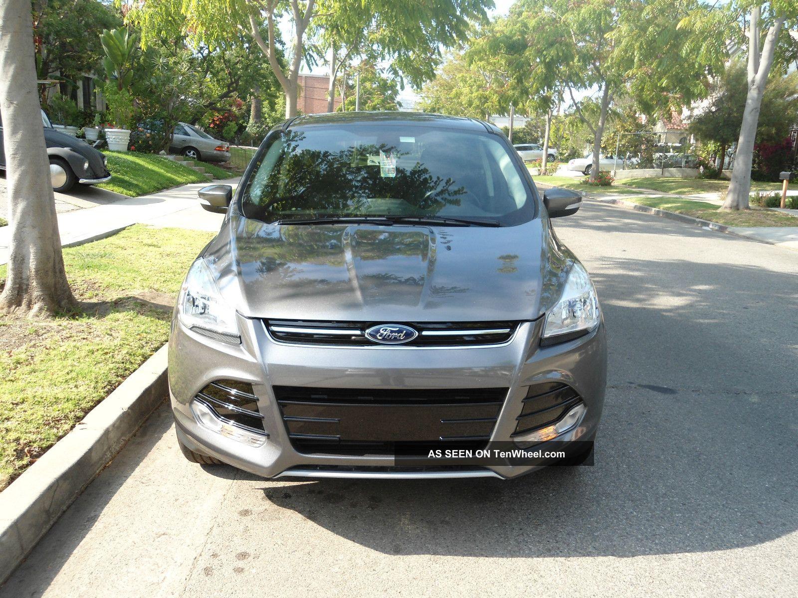 2013 Ford Escape Sel Sport Utility 4 - Door 1.  6l Under, Escape photo