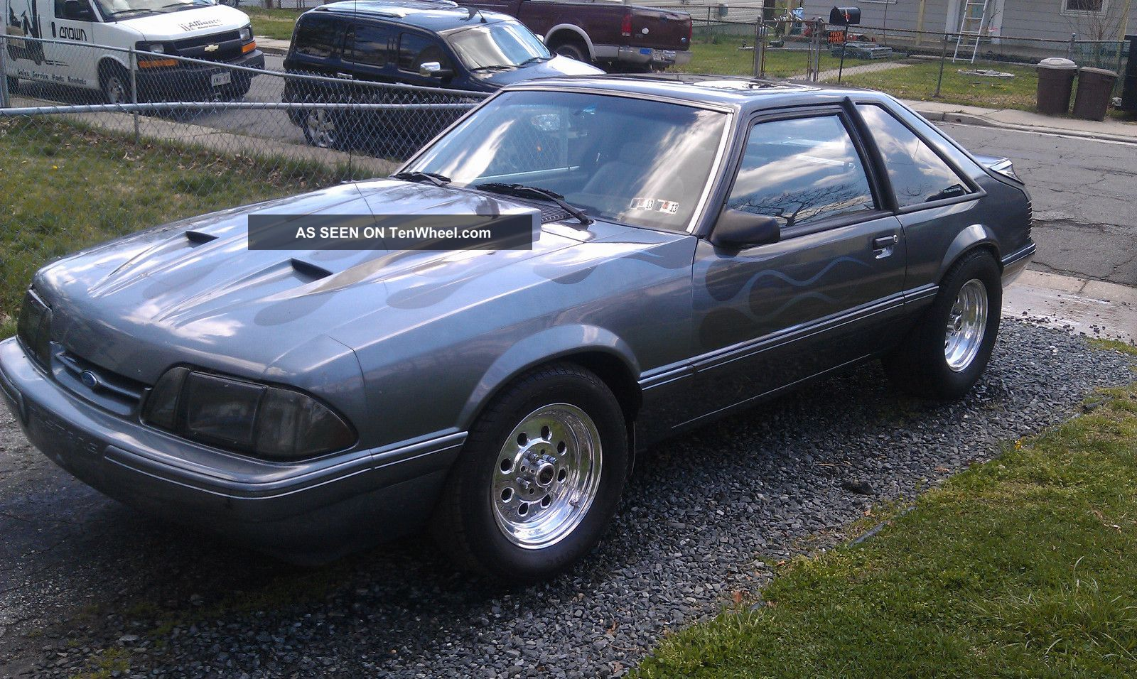 1987 ford mustang lx hatchback 2 door 5 0l. Black Bedroom Furniture Sets. Home Design Ideas