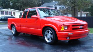 Chevy S10 Ss P / U,  Ramjet Fuel Injection 1995 photo