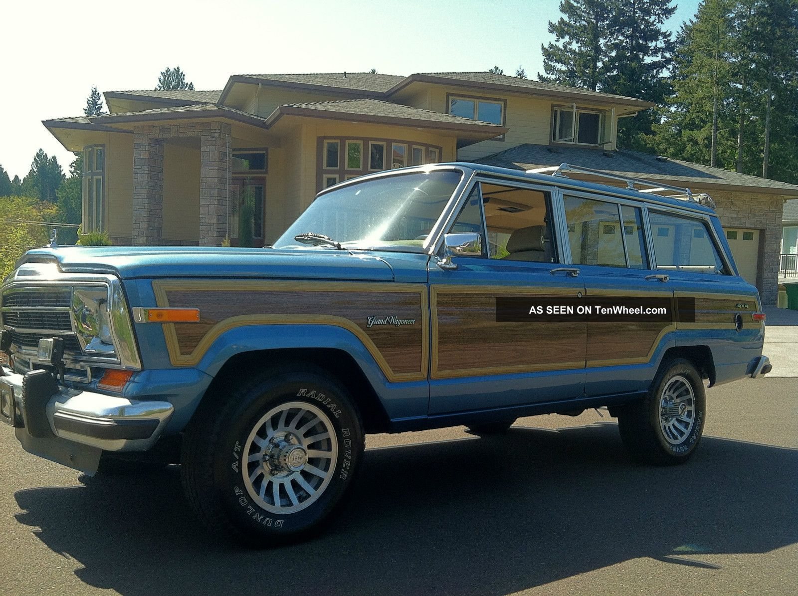 1991 jeep grand wagoneer 4x4 last year of the wagoneer. Black Bedroom Furniture Sets. Home Design Ideas