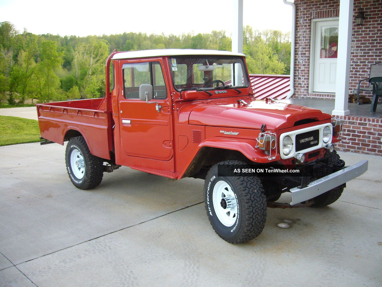 1980 toyota land cruiser fj45 diesel pickup. Black Bedroom Furniture Sets. Home Design Ideas