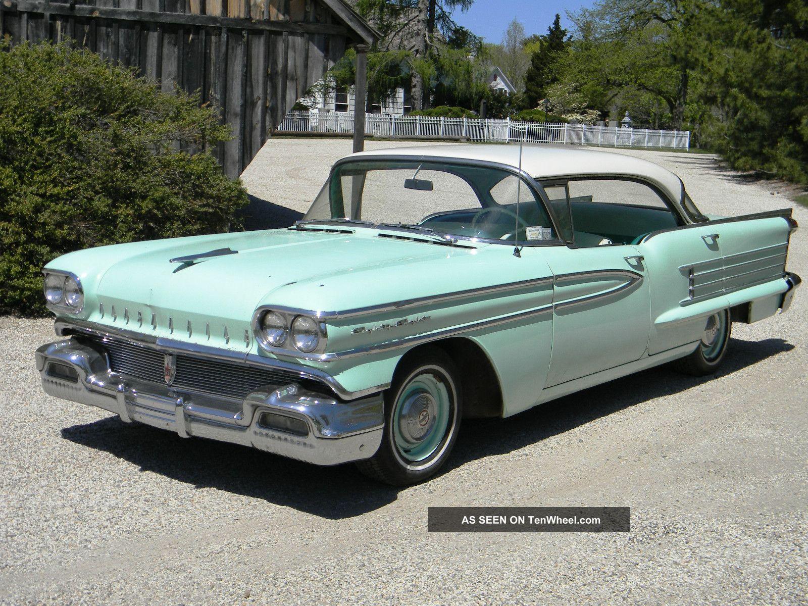 1958 Oldsmobile Super 88 Holiday on Cadillac Engine Scheme