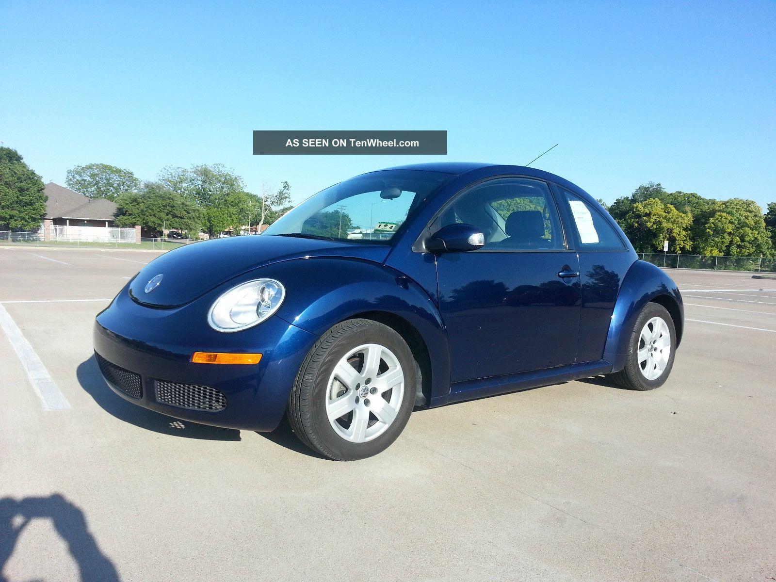 2007 Volkswagen Beetle 2 5 Hatchback 2 Door 2 5l Automatic