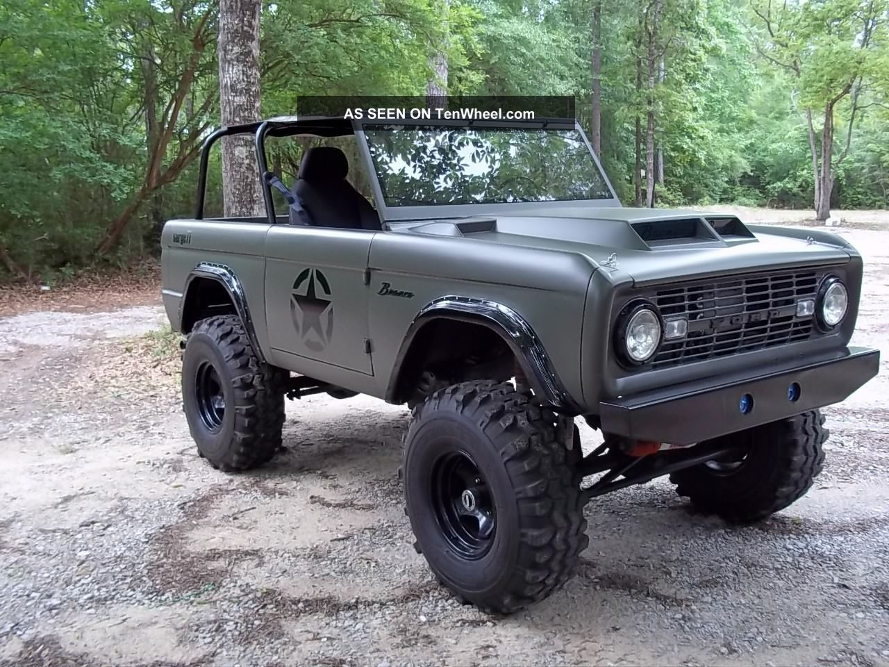 1977 Ford Bronco Military Tribute Sarge 77