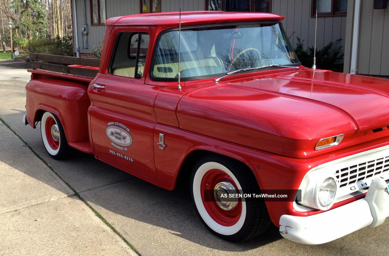 1963 Chevrolet C10 Rat Rod Shop Truck