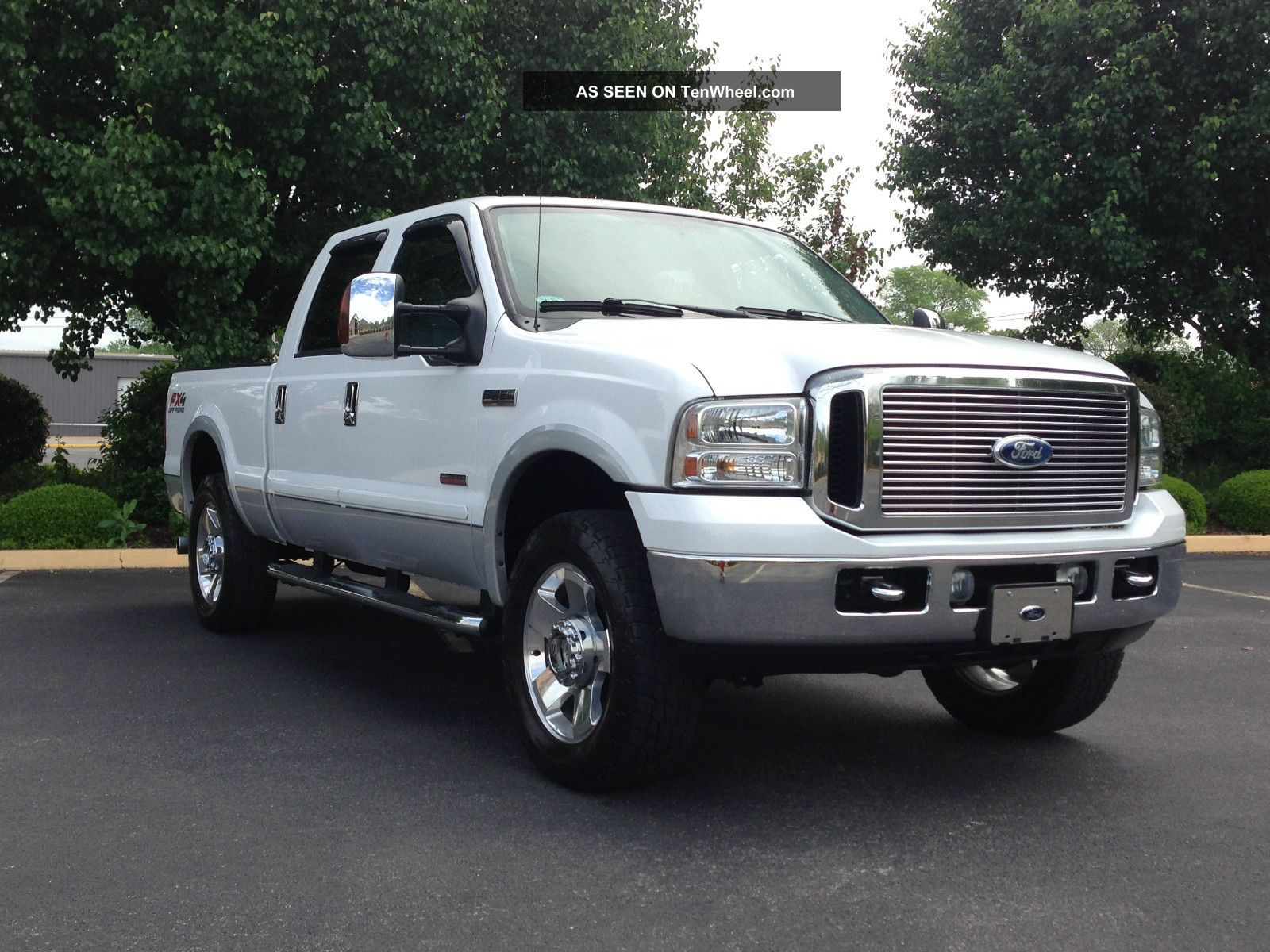 2007 ford f 250 fx4 duty lariat crew cab 6 0l turbo diesel. Black Bedroom Furniture Sets. Home Design Ideas