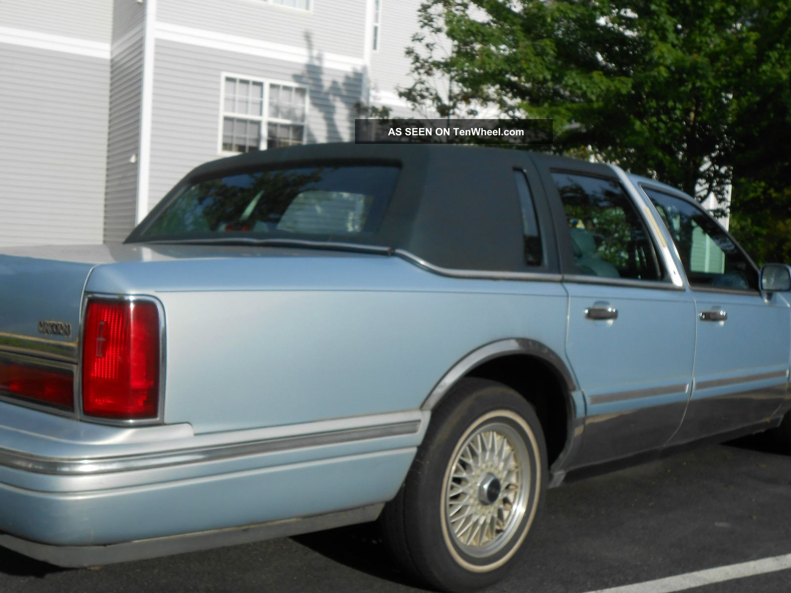 1997 lincoln town car executive series. Black Bedroom Furniture Sets. Home Design Ideas