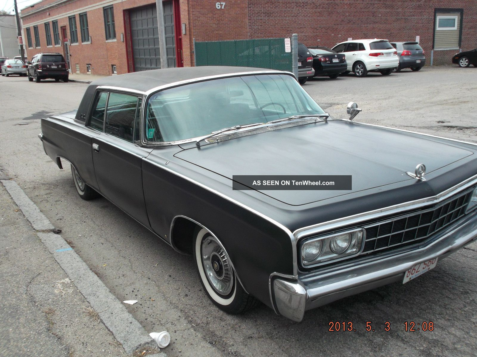 1966 chrysler imperial base hardtop 2 door 7 2l imperial photo 4. Cars Review. Best American Auto & Cars Review