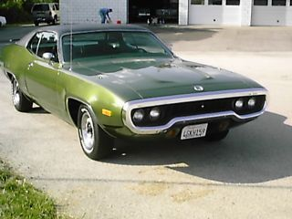 1972 Plymouth Satelite Sebring True California Survivor photo