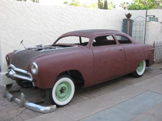 1949 Ford 2 Dr.  Chop - Top.  Hot - Rod,  Shoe - Box,  Custom photo