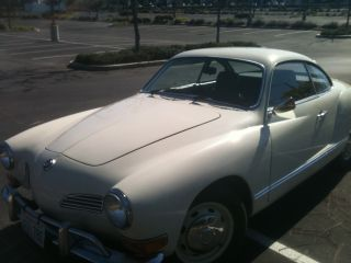 1970 Volkswagen Karmann Ghia Base 1.  6l photo