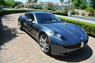 2012 Fisker Karma Ecosport In Deep Ocean - - Private Seller photo