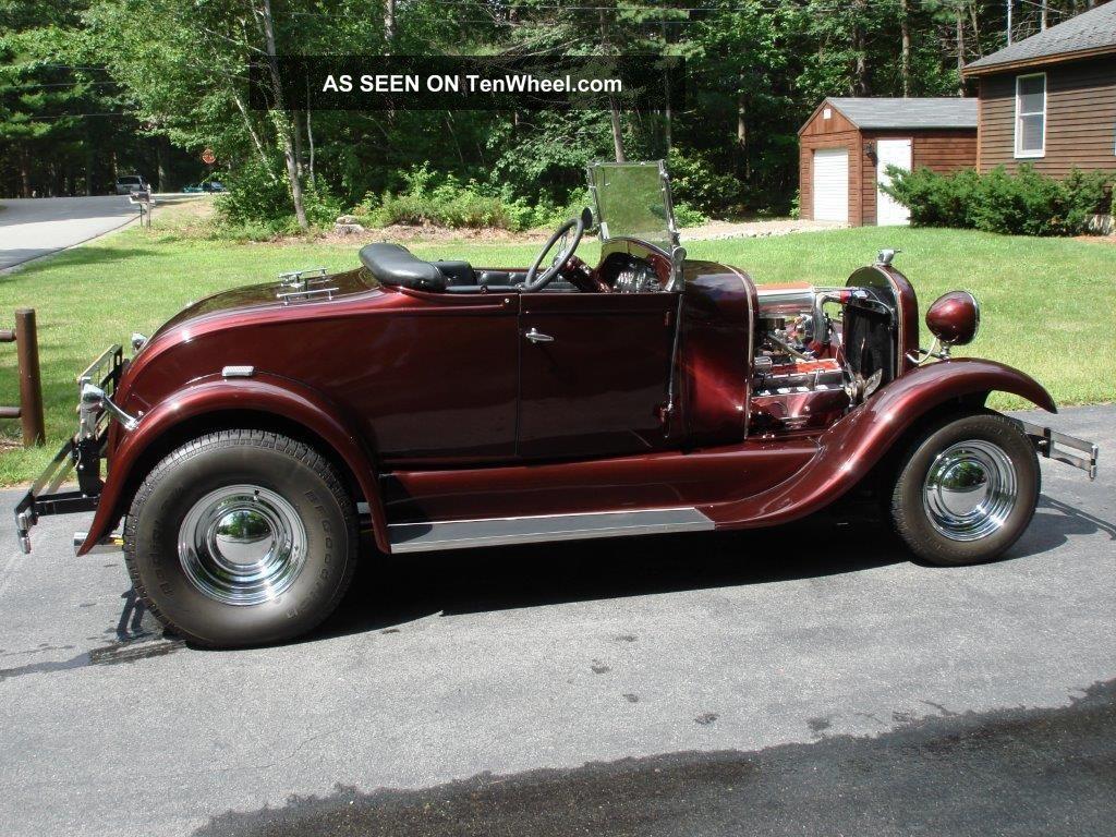 1930 Ford Model A Roadster Street Rod