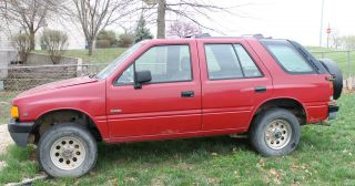 1992 Isuzu Rodeo 4 Wheel Drive Truck Suv photo