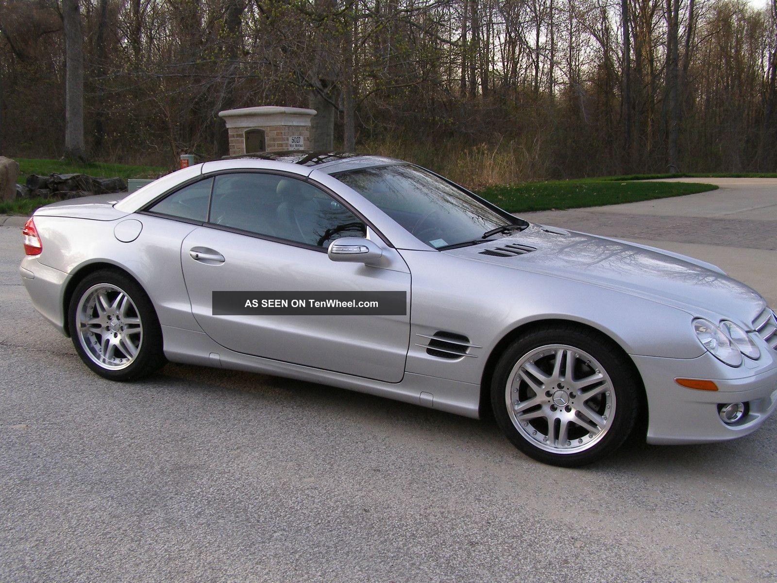2008 Mercedes - Benz Sl550 Base Convertible 2 - Door 5.  5l SL-Class photo