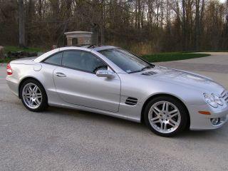 2008 Mercedes - Benz Sl550 Base Convertible 2 - Door 5.  5l photo