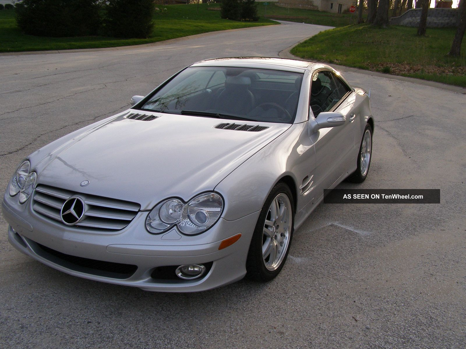 2008 mercedes benz sl550 base convertible 2 door 5 5l