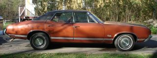 1971 Oldsmobile Cutlass Supreme 4 Door Sedan All photo