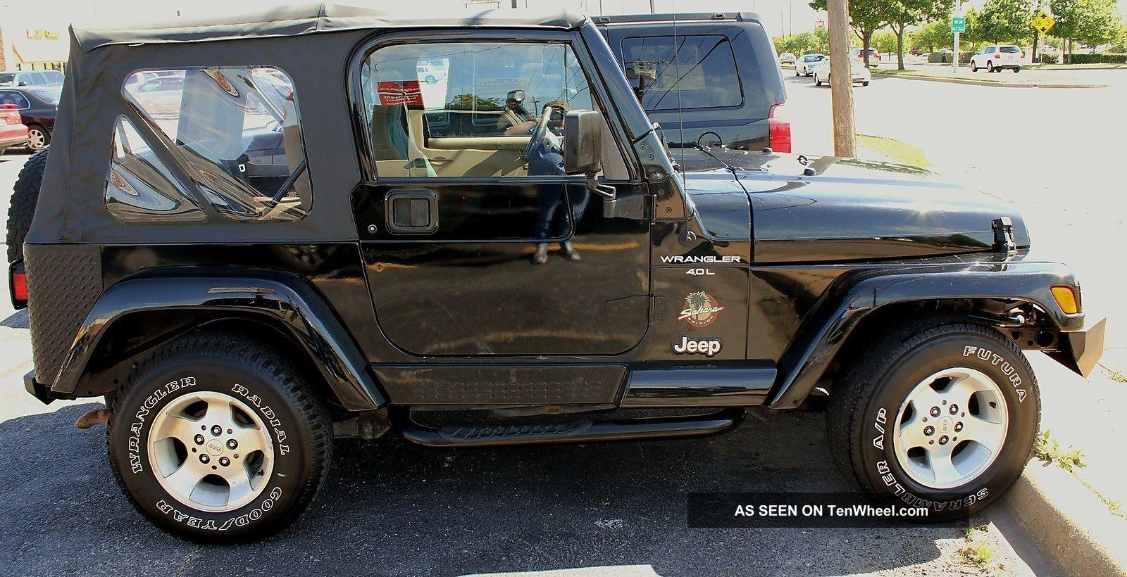 2001 jeep wrangler sahara 4wd. Black Bedroom Furniture Sets. Home Design Ideas