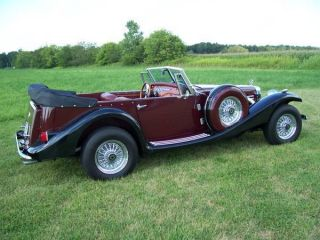 1936 Mercedes 540k Replica,  V8 Engine,  Wire Wheels,  Automatic photo