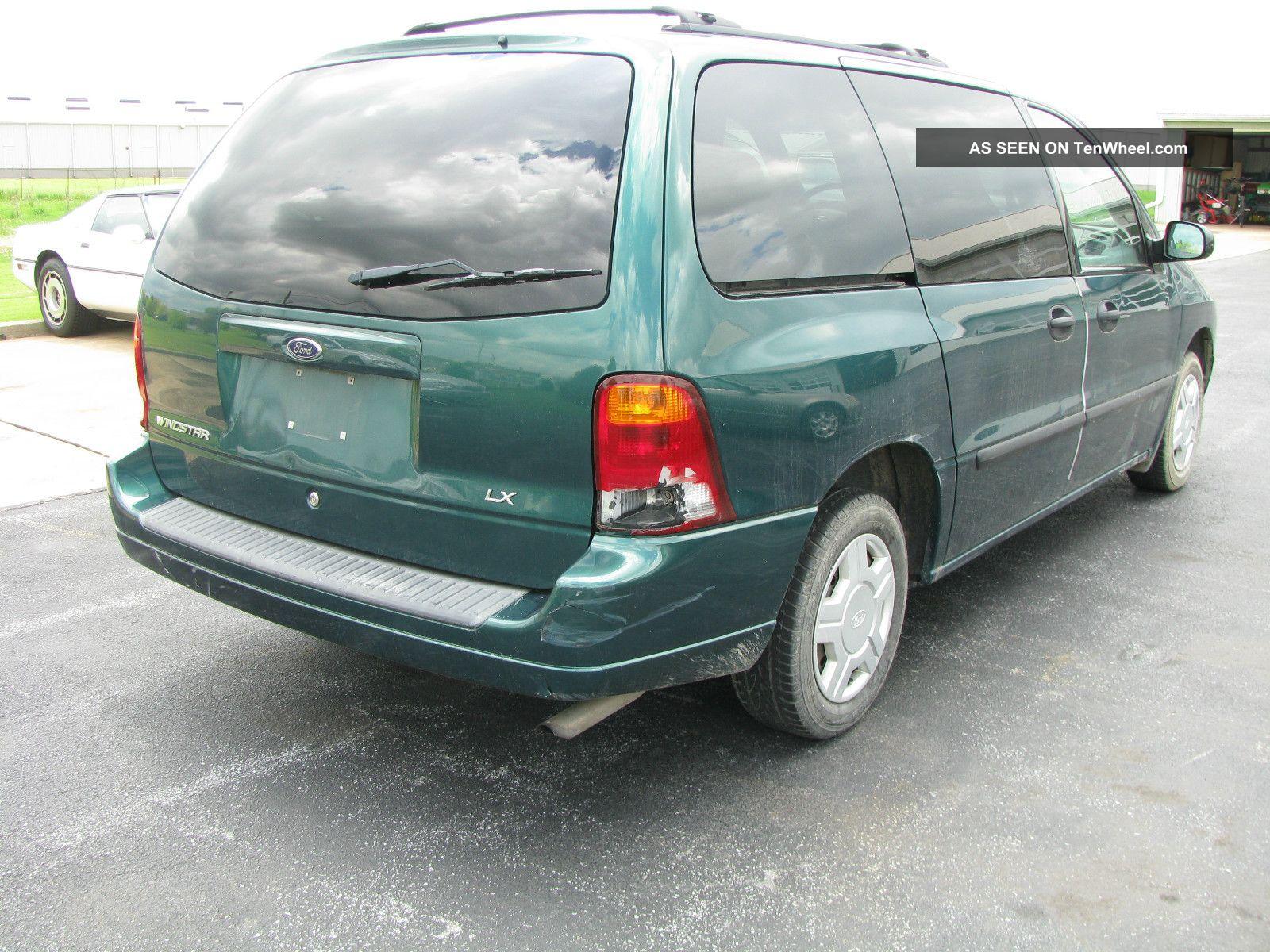 2003 Ford Windstar Lx Mini Van 7 Passenger 4 Door Great For Wheelchair Lift