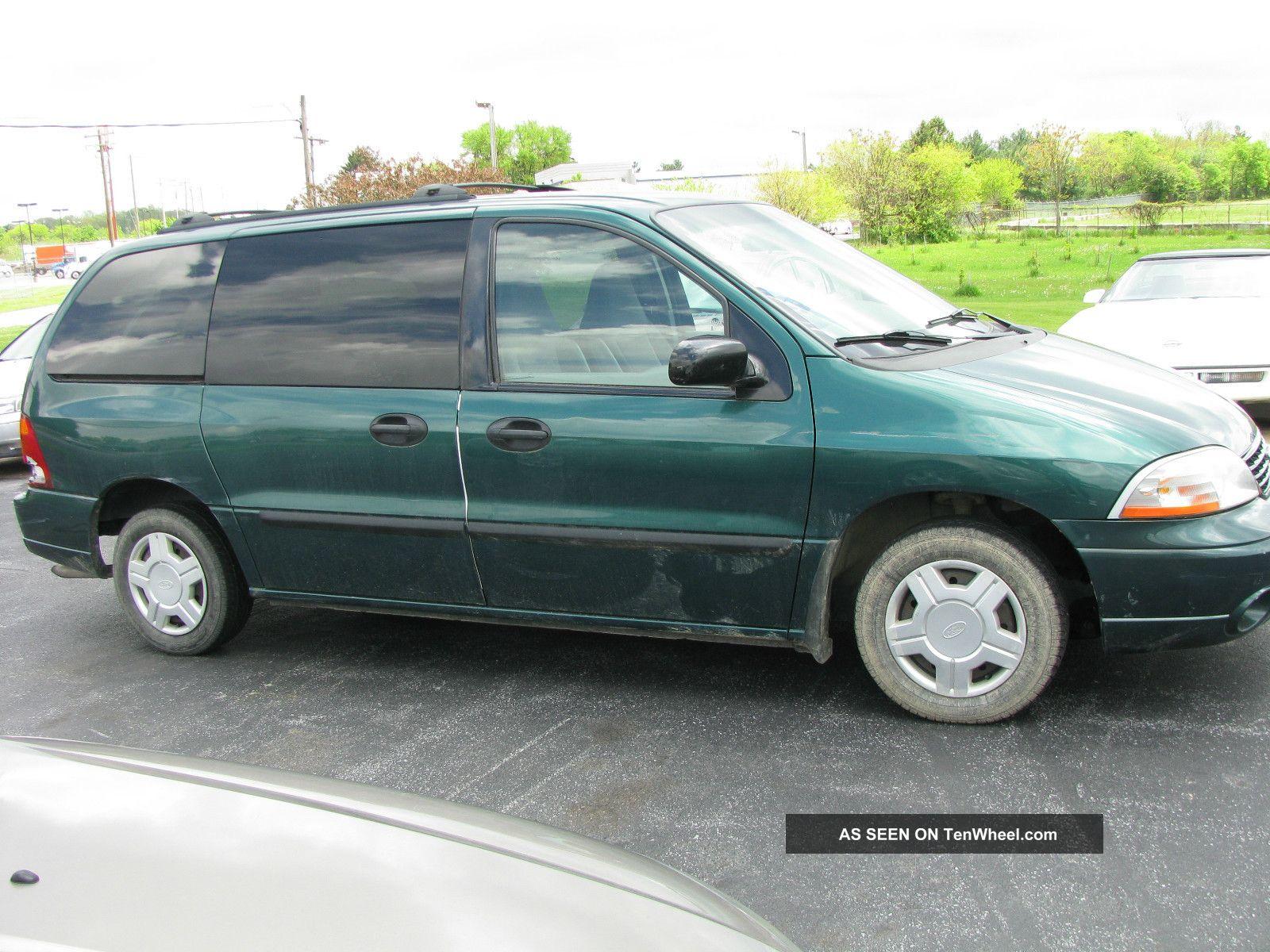 2003 ford windstar lx mini van 7 passenger 4 door great for wheelchair lift. Black Bedroom Furniture Sets. Home Design Ideas