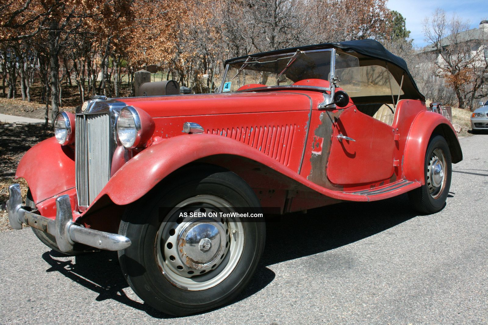 1951 Mg Td In Nearly Condition