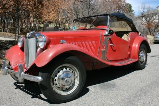 1951 Mg Td In Nearly Condition photo