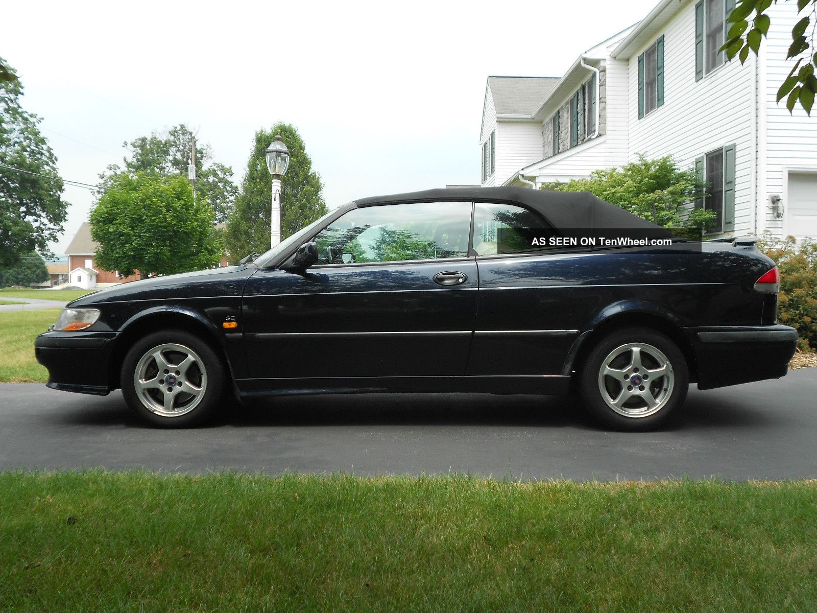 2000 Saab 93 Se Turbo Convertible 9-3 photo