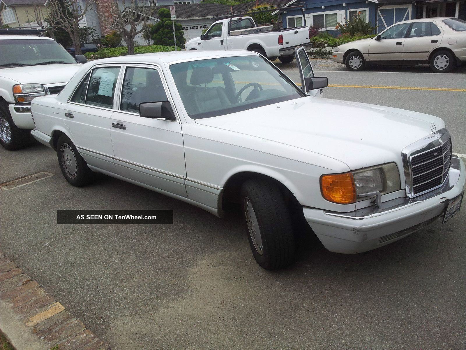 1991 mercedes benz 300se 4 door sedan for 1991 mercedes benz