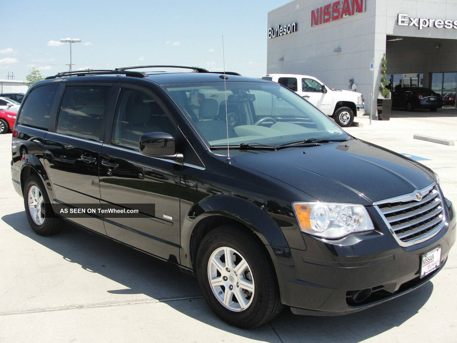 2008 Chrysler Town & Country Dvd Minivan